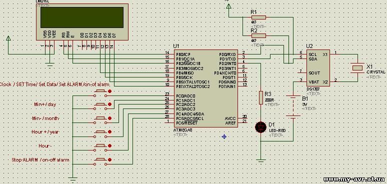 images of ds1307 lcd atmega8 wallpaper